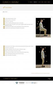 Capellaweb - Sites - Corpo e Violino
